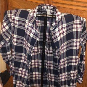 H&M plaid shirt (size 14)